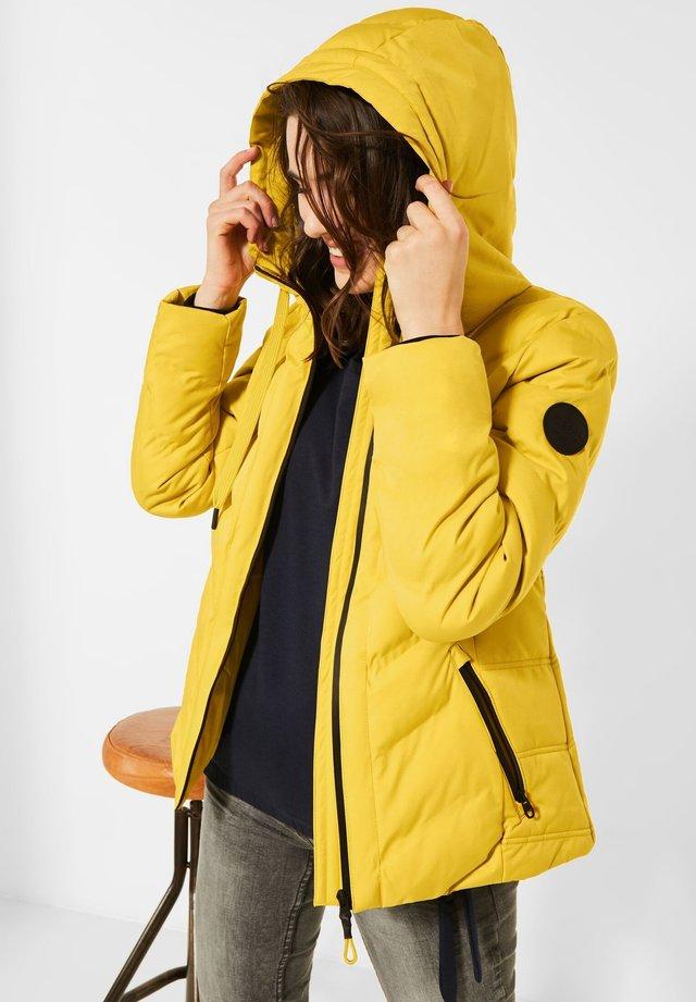 Winterjas - gelb