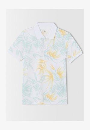 REGULAR FIT  - Polo shirt - ecru