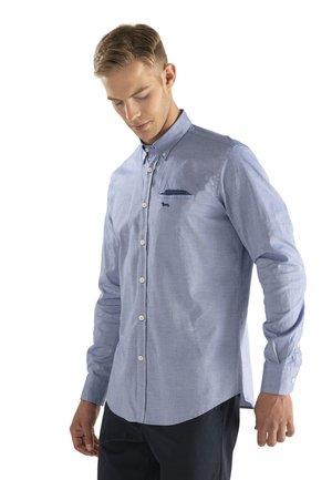 CAMICIA  - Overhemd - blu fluo