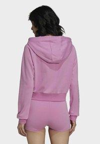 adidas Originals - Zip-up sweatshirt - pink - 1
