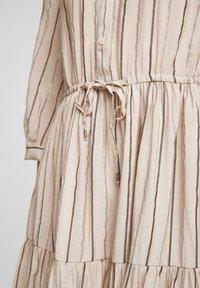 Q/S designed by - Blousejurk - beige stripes - 5