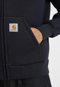 Carhartt WIP - CAR-LUX HOODED - Zip-up hoodie - dark navy/grey - 5