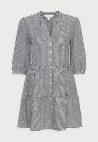 Forever New Petite - GINA GINGHAM SMOCK DRESS - Day dress - black and white gingham - 3