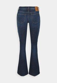 Diesel - D-EBBEY - Bootcut jeans - denim blue - 1