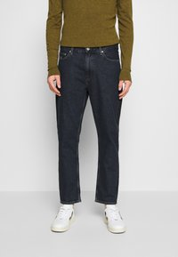 Tommy Jeans - DAD STRAIGHT - Jeans a sigaretta - dark-blue denim - 0