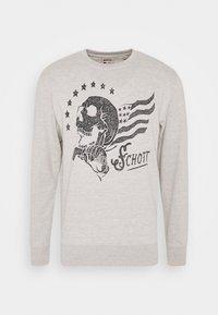 Schott - Sweatshirt - heat grey - 0