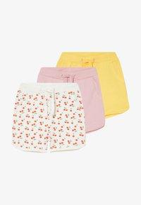 Name it - NBFDENKA 3 PACK - Teplákové kalhoty - pink nectar - 4