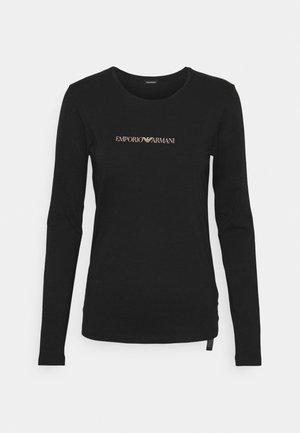 ICONIC LOGOBAND - Haut de pyjama - black