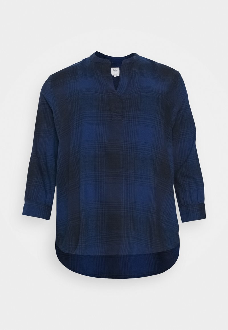 Lee Plus - ESSENTIAL BLOUSE - Pusero - washed blue