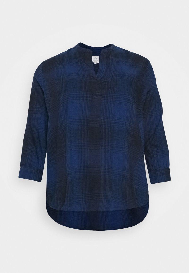 Lee Plus - ESSENTIAL BLOUSE - Bluzka - washed blue