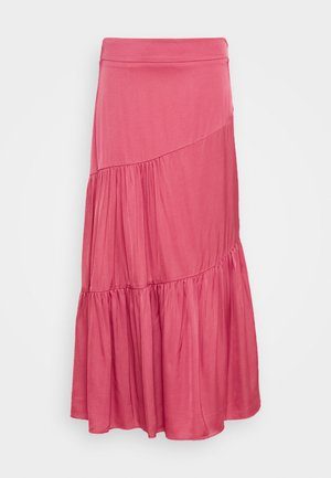 SKIRT - Maxi sukně - dusty raspberry