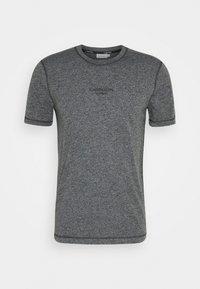 Calvin Klein - MOULINE  - Jednoduché triko - black - 4