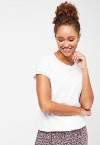 Next - T-shirt imprimé - white - 0