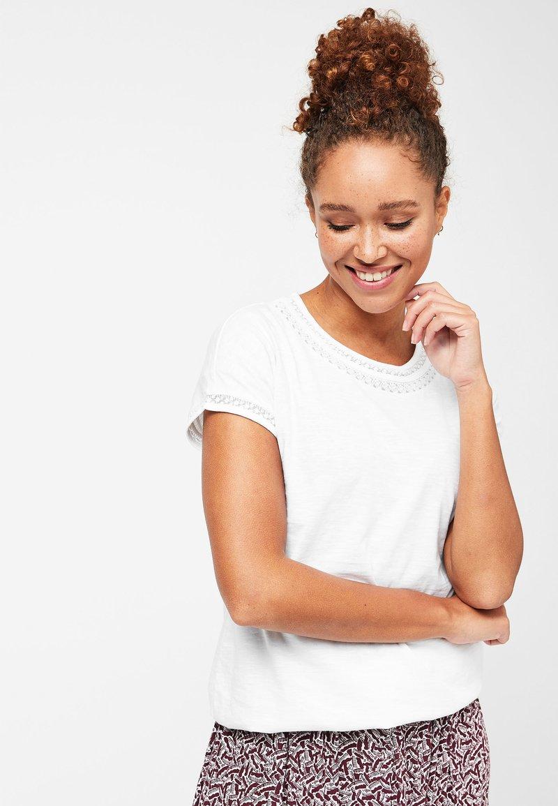 Next - T-shirt imprimé - white