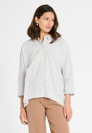 Overhemdblouse - light grey