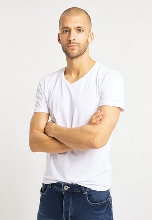2 PACK - T-shirt basique - weiß
