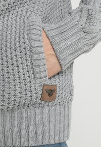 INDICODE JEANS - STONE - Jumper - light grey mix - 5