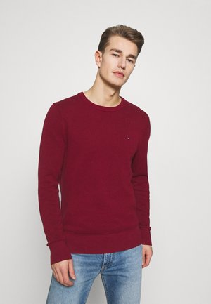 CREW NECK - Jumper - rouge