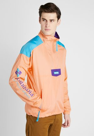 SANTA ANA ANORAK - Windbreaker - brigt nectar/clear water/vivid purple