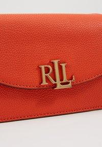 Lauren Ralph Lauren - CLASSIC MADISON - Bum bag - pumpkin - 7