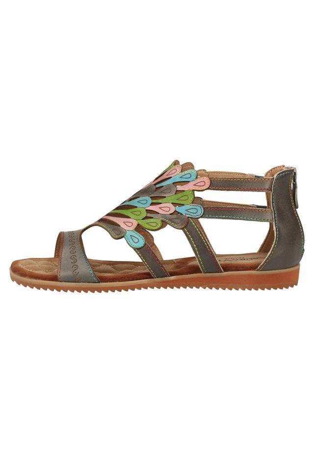 SANDALEN - Sandals - gris