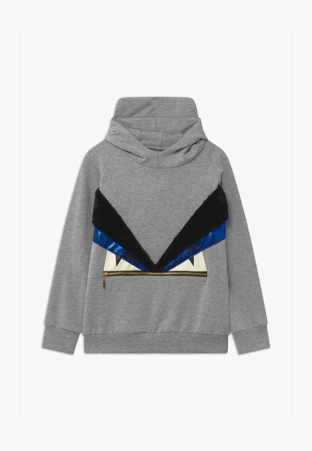 MOODY MOE UNISEX - Bluza z kapturem - grey
