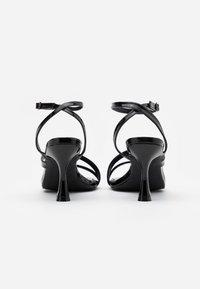 BEBO - BRYNA - High heeled sandals - black - 3