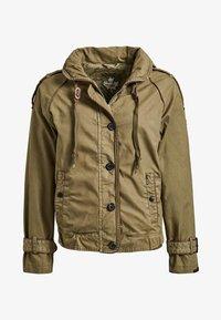 khujo - STACEY - Light jacket - khaki - 6