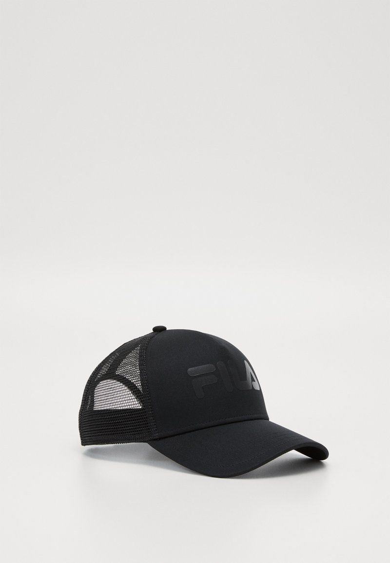 Fila - TRUCKER WITH LENIAR LOGO - Caps - black