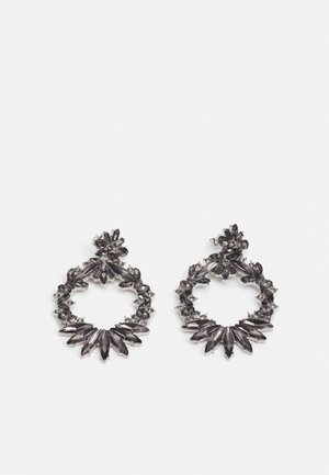PCAKULA EARRINGS - Kolczyki - silver-coloured/grey