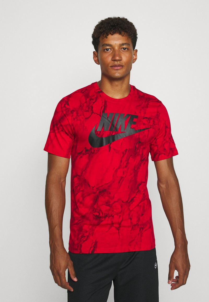 Nike Performance - TEE - Printtipaita - university red