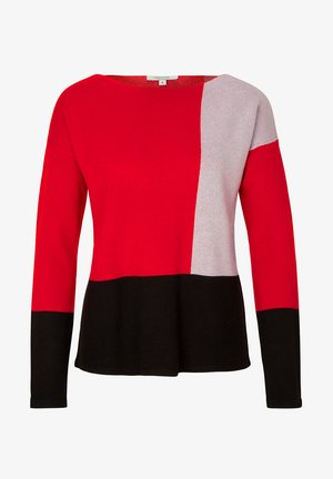 MIT COLOURBLOCK - Jumper - red
