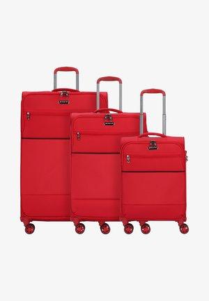 3 SET - Set di valigie - red