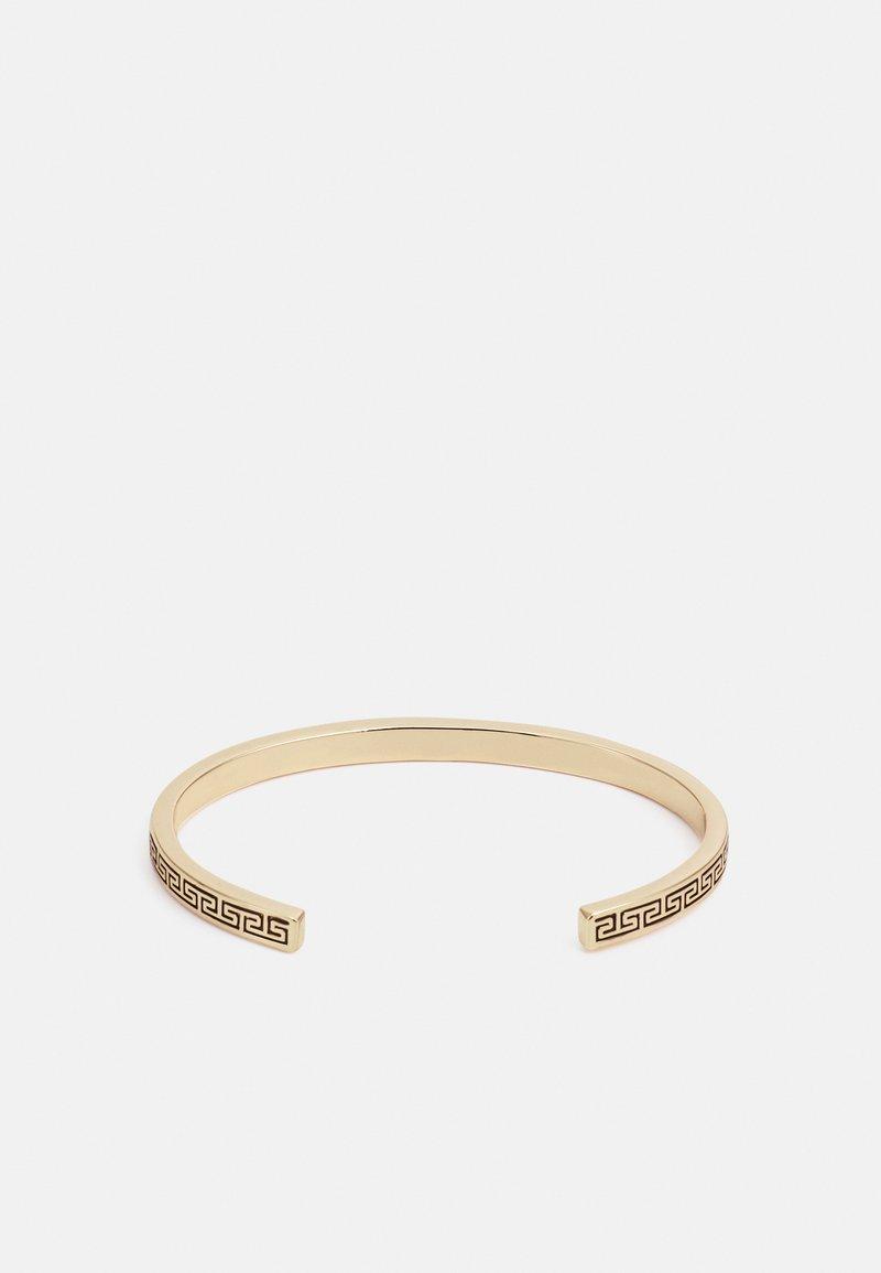 River Island - ENGRAVED BANGLE - Armband - gold-coloured