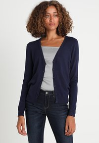 Zalando Essentials - Chaqueta de punto - dark blue - 0