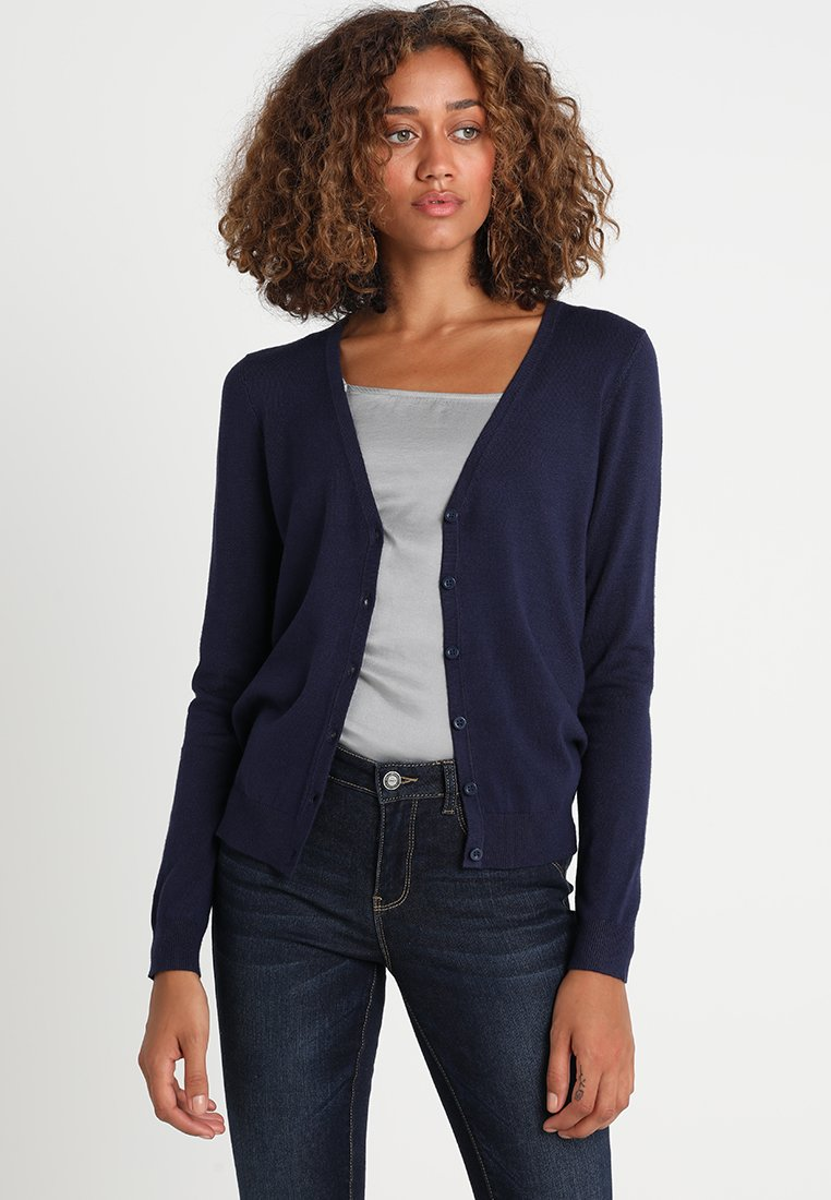 Zalando Essentials - Chaqueta de punto - dark blue