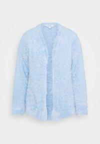 EYELASH EDGE TO EDGE CARDIGAN - Cardigan - light blue