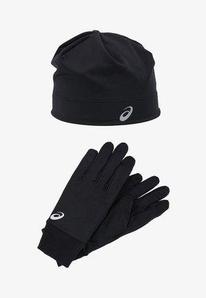 RUNNING PACK SET UNISEX - Fingerhandschuh - performance black