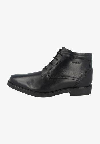 ABEL - Lace-up ankle boots - black