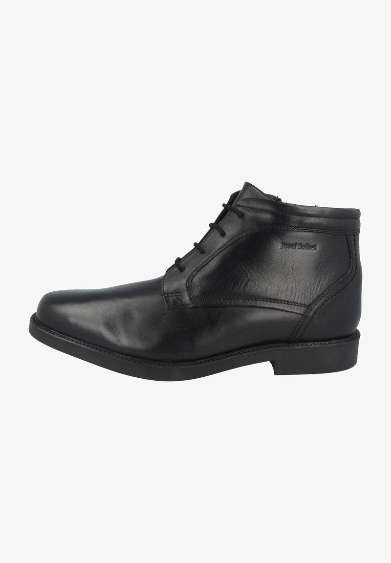 Josef Seibel - ABEL - Lace-up ankle boots - black