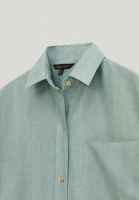 Massimo Dutti - Shirt dress - turquoise - 2
