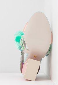 Kat Maconie - AYA - High heeled sandals - pebble/multicolor - 6
