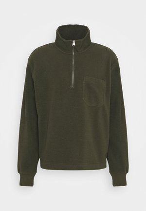 Sweat polaire - khaki green dark
