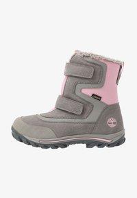 Timberland - CHILLBERG 2 STRAP GTX - Winter boots - medium grey - 1