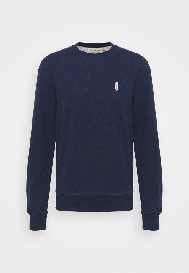 CREWNECK - Sweatshirt - navy melange