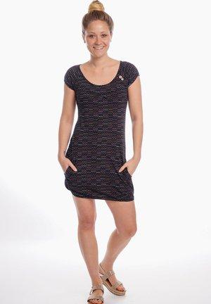 SINDY - Jersey dress - black