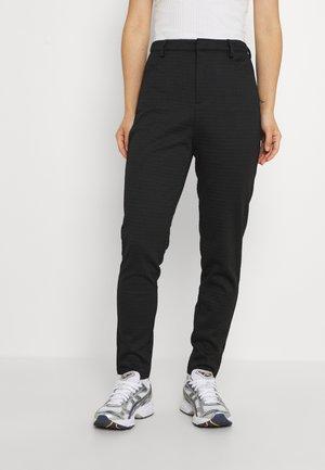 VMELLA - Spodnie materiałowe - solid black