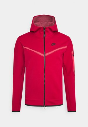 HOODIE 2 TONE - veste en sweat zippée - gym red/fusion red