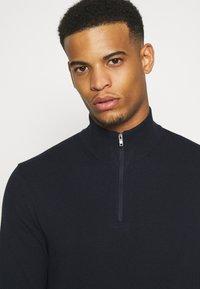 Burton Menswear London - CORE HALF ZIP - Jumper - navy - 3