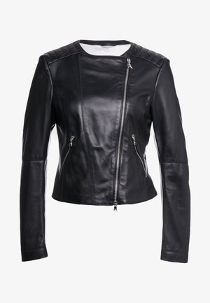 GIACCA JACKET - Leather jacket - nero